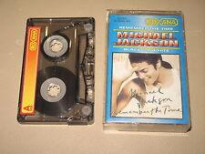 MICHAEL JACKSON - Remember The Time / Black Or White - MC Cassette tape /2948