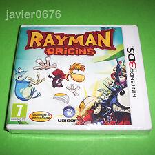 RAYMAN ORIGINS NUEVO Y PRECINTADO PAL ESPAÑA NINTENDO 3DS