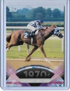 SWEET 2011 TOPPS AMERICAN PIE ~ SECRETARIAT CARD #114 ~ TRIPLE CROWN