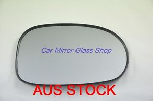 RIGHT DRIVER SIDE MIRROR GLASS FOR NISSAN PULSAR N16 2000-2006 (sedan only)