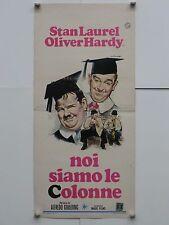 NOI SIAMO LE COLONNE comico Goulding con Hardy e Laurel loc. orig. 1951