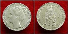 Netherlands - 1 Gulden 1908 Zeer Fraai