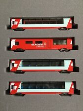 KATO 10-1146 - Glacier Express - 4pcs Extension Set - N Gauge