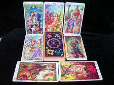 NEW! WHEEL OF THE YEAR TAROT CARD ORACLE DANCING WITH THE SEASONS OPEN FOR PICS