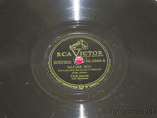 DICK JAMES Nature Boy/ You Can't Be True, Dear 78 RCA Victor 20-2944