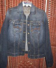 Softwear denim jean jacket M womens Mark Singer 38 bust