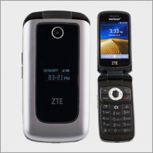 ZTE Cymbal 4G LTE | Verizon Prepaid Cell Phone | Silver -Brand New