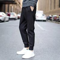Sport Men Long Casual Pants Gym Mens Slim Fit Trousers Running Jogger Sweatpants