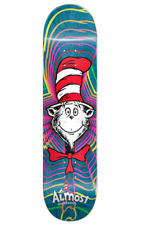 Almost x Dr Seuss Cat In The Hat Zoom 8.37 x 32.2 R7 Skateboard Deck