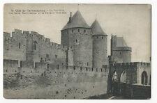 France - Cite de Carcassonne, Le Pont-Levis, les Tours... - 1920's Postcard