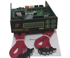 Copystars 1-11 lightscribe Blu Ray CD DVD duplicator controller 128MB