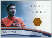 2019 Lost In Space Series 1 Rc9 Don West Costume Relic Card Archive Exclusive