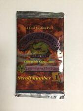 AEG L5R CCG Scorpion Clan Coup Scroll #1 - Booster Pack TCG CCG