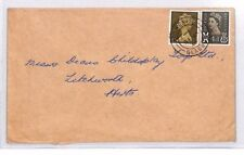 BR15 1969 GB SCOTLAND REGIONALS *Milngavie* WILDINGS MACHIN COMBINATION Cover