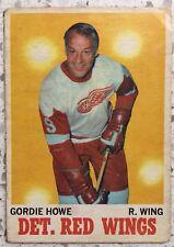 Gordie Howe O-Pee-Chee #29 1970-71 Detroit Red Wings