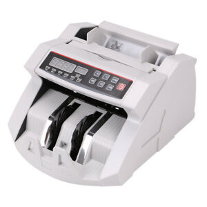 Automatic Bank Note Bill Counter Currency Money Pound Euro Cash Count Machine UK