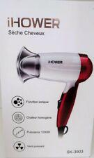 Sèche Cheveux iHOWER Ionique 1200W Air Coiffure garantie 1 an