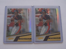 2010 ABSOLUTE MEMORABILIA SPECTRUM FB (Lot of 2) Kyle Orton SN 01/10 & 02/10