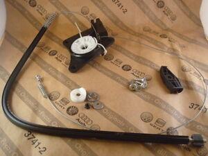 VW Cabrio Kabriolett Reparatur Kit hinten rechts Fensterheber 1Y0898292 NEU ORIG