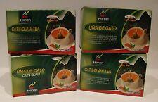 100 Tea bags Una de Gato (Cat's Claw Tea bags) 4 Boxes