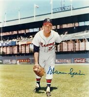 Warren Spahn 8 x10 Autographed Signed Photo ( HOF Braves ) REPRINT
