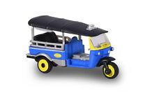 Majorette 212053055 - Tuk Tuk - Blau/Gelb Mit Gelben Felgen - Neu