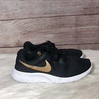 Nike Tanjun Men's Running Shoes Black / Metallic Gold-White AQ7154-001