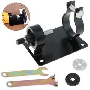 10mm Electric Drill Cutting Seat Stand Holder Set for Polishing Grinding Cutting