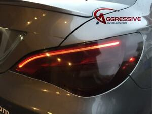 Mercedes CLA 45 AMG Tinted Tail Light Vinyl Film Precut Overlay Light Smoke 35%