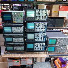 Lot de 10 oscilloscopes Metrix,Philips,Schlumberger à réviser ou pour pièces