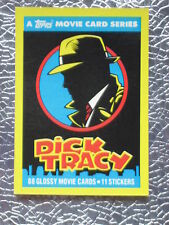 1990 DICK TRACY 88 TRADING CARDS SET Warren Beatty Madonna TOPPS