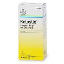 Ketostix Reagent Strip for Urinalysis,Ketone Test-100 each