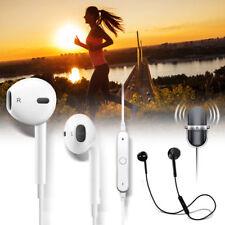 Bluetooth Wireless Sports Headphones Headset Earphones Mic for iPhone 7 & 7 Plus