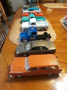 vintage diecast cars and trucks 1/24 lot