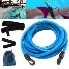 4m Swim Bungee Training Belt Set Resistance Band Tether Harness Strap Pool Aid