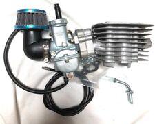 66/80cc 8mm Performance Tuning Reed valve cylinder w Japan Carburetor kit