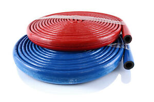 Pipe Insulation 10 metres Coated Polyethylene Lagging Wrap All Sizes 15mm-28mm