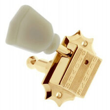 NEW Grover 135G 3+3 Vintage Deluxe Tuners for Gibson®/Epiphone® 3x3 - GOLD