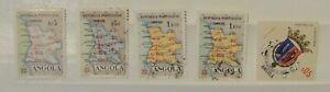 Briefmarke Angola