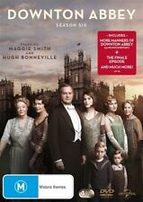 "DOWNTON ABBEY season 6 + The Finale 2015 Christmas Special DVD R4 ""in stock"""