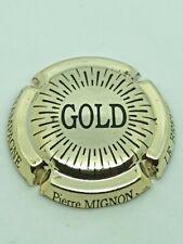Capsule de champagne Pierre Mignon Gold refA6