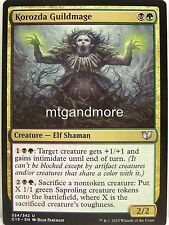 Magic Commander 2015 - 4x Korozda Guildmage