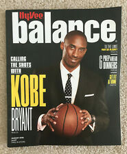 Kobe Bryant Hyvee Balance Magazine August 2019 NBA Basketball Lakers Los Angeles