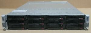 Supermicro SuperServer 6028TR-DTR 2-Node Server X10DRT-H CTO v3 v4 0P 0MEM