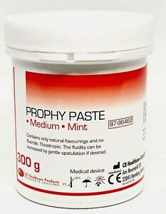 Dental Prophy Mint Paste Prophylaxis Tooth Polishing Stain Removal Cleaning 300g