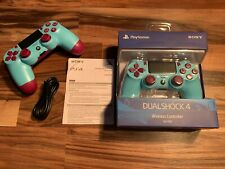 PS4 Official PlayStation 4 Dualshock 4 Wireless Controller - V2 Blue