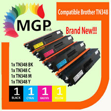 Set of 4 Compatible TN348 Toner Cartridge for Brother MFC9460CDN MFC9970CDW