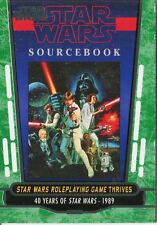 Star Wars 40th Anniversary Green Base Card #73 Star Wars Roleplaying Game T