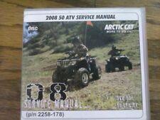 2008 Arctic Cat DVX 50 ATV Service Manual (P/N 2258-178)