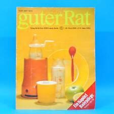 Guter Rat 1-1981 Verlag für die Frau DDR Steratrans 2310 Schaukel Schaukelbett D